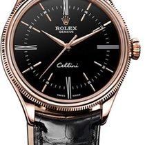 Rolex Cellini Time Růžové zlato 39mm Bílá Bez čísel Česko, Praha