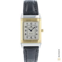 Jaeger-LeCoultre Reverso Lady pre-owned 19.4mm Silver Crocodile skin