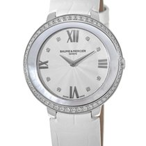 Baume & Mercier Promesse Steel 34.4mm Silver United States of America, New York, Brooklyn
