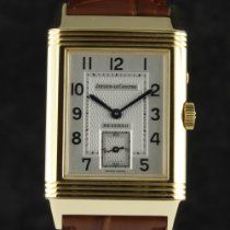 Jaeger-LeCoultre Yellow gold Manual winding Silver Arabic numerals 26mm pre-owned Reverso Duoface