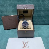 Louis Vuitton Steel 41mmmm Automatic Q11211 pre-owned
