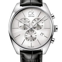 ck Calvin Klein Steel 44.5mm Quartz new