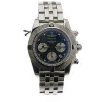 Breitling Chronomat 44 Stahl 43,7mm Blau Keine Ziffern