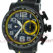 "Graham Silverstone Stowe ""Yellow"", Black Carbon Dial, Limited..."