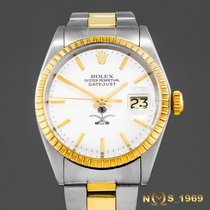 Rolex Oyster Perpetual Date 1505 Very good Gold/Steel 35 mm case not including  crownmm Automatic
