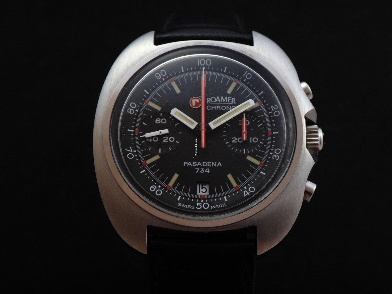 Roamer Pasadena Chronograph 70 S Nos Verkauft Auf Chrono24