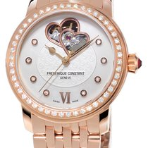Frederique Constant Ladies Automatic World Heart Federation Gold/Steel White United States of America, New York, Brooklyn