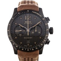 Mido Multifort 44 Chronograph Brown Strap