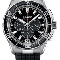 Zenith El Primero Stratos Flyback Steel 45.5mm Black United States of America, Pennsylvania, Holland