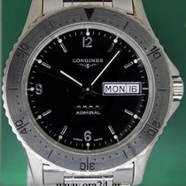 Λονζίν (Longines) Admiral 38mm Automatic Date Stainless Steel...