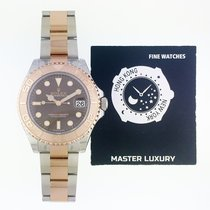 Rolex Yacht-Master 37 Gold/Steel 37mm Brown No numerals United States of America, New York, New York