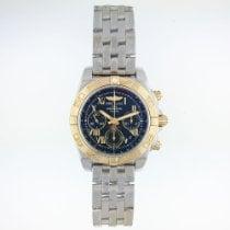 Breitling Chronomat 41 Gold/Stahl 41mm Schwarz Römisch