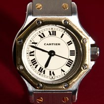 Cartier Santos Automatic Ronde (0,750) 18 K Solid Yellow Gold...