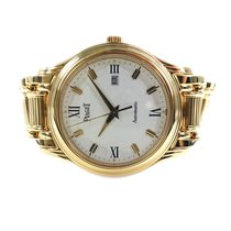 Piaget Yellow gold Automatic White 34mmmm pre-owned Polo