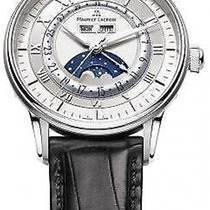Maurice Lacroix Masterpiece Phases de Lune Staal 40mm Zilver