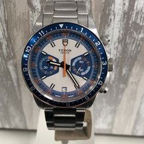 Tudor Heritage Chrono Blue Steel 42mm Blue No numerals