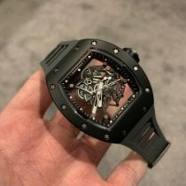 Richard Mille 49.9mm Cuerda manual 2013 usados RM 055 Transparente