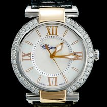 Chopard Imperiale Goud/Staal 36mm Parelmoer Romeins