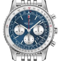 Breitling Navitimer 1 B01 Chronograph 43 Steel 46mm Blue No numerals United States of America, New York, New York