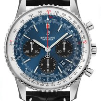Breitling Navitimer 1 B01 Chronograph 43 Steel 43mm Blue No numerals United States of America, New York, New York