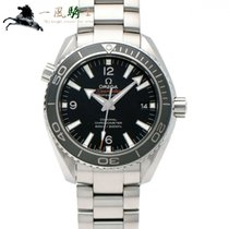Omega Seamaster Planet Ocean pre-owned 42mm Black Steel