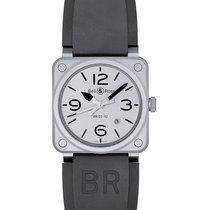 Bell & Ross BR 03-92 Steel BR0392-GBL-ST/SRB new
