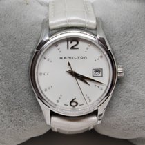Hamilton Jazzmaster Lady Steel 35mm White
