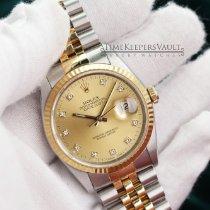 Rolex 16233 Goud/Staal Datejust 36mm tweedehands