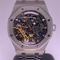 Audemars Piguet Royal Oak Double Balance Wheel Openworked 15407ST.OO.1220ST.01 2019 pre-owned