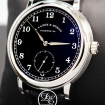 A. Lange & Söhne Platinum Manual winding Black 40mm new 1815