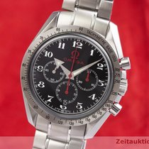 Omega Speedmaster Broad Arrow Acier 42mm Noir