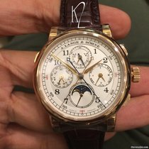 A. Lange & Söhne 1815 new 2019 Manual winding Chronograph Watch with original box and original papers 421.032