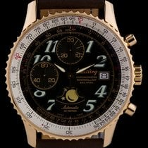 Breitling Montbrillant Rose gold 41mm Black Arabic numerals