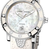 Ulysse Nardin Lady Diver Starry Night Сталь Перламутровый