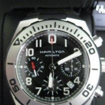 Hamilton Khaki Navy Sub Acero 43mm Negro Arábigos