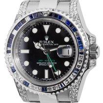 Rolex Milgauss Black PVD Coated Watch with Black Precious...