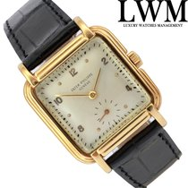 Patek Philippe Square 2412 stepped-case yellow gold 18KT very...