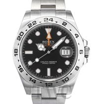 ロレックス (Rolex) Explorer II Black/Steel Ø42 mm - 216570