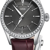 Oris Artelier Date Steel 28mm Grey United States of America, New York, Airmont
