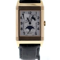 Jaeger-LeCoultre Reverso sun moon pink gold silver dial