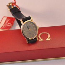 Omega Geneve New Old Stock With Tag And Box 7x Signed