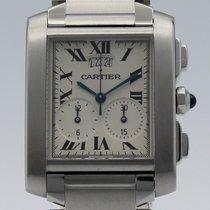Cartier Tank Française 28mm White Roman numerals