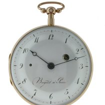 Breguet Watch pre-owned 1820 Yellow gold 55mm Arabic numerals Manual winding Watch only