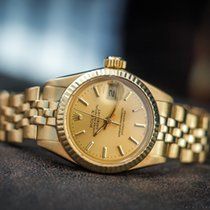 Rolex OYSTER PERPETUAL DATEJUST 18K LADIES 6900