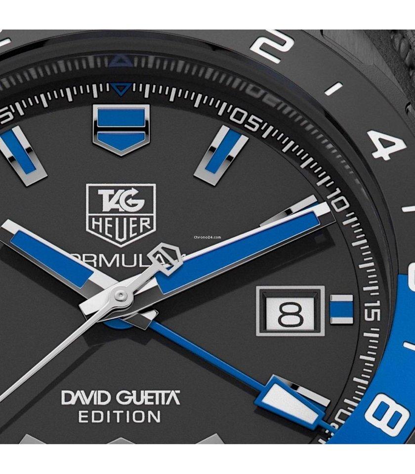 6359988e82a TAG Heuer Formula 1 David Guetta Automatico Gmt Limited... por R  9.012  para vender por um Seller na Chrono24
