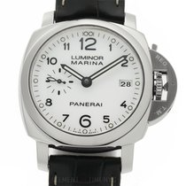 Panerai Luminor Marina 1950 3 Days Automatic pre-owned 42mm White Date Leather