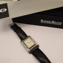 Rainer Brand Steel 30mm Manual winding pre-owned