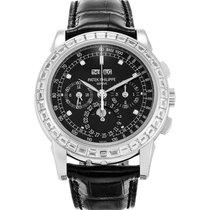 Patek Philippe 5971P-001 Platinum Perpetual Calendar Chronograph 40mm new