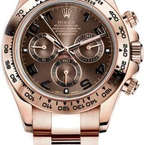 Rolex Red gold Automatic Brown Arabic numerals 40mm pre-owned Daytona