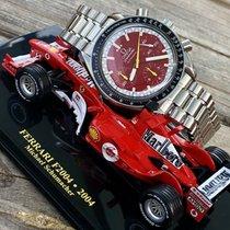 Omega Michael Schumacher F1 Red Dial Speedmaster mens watch